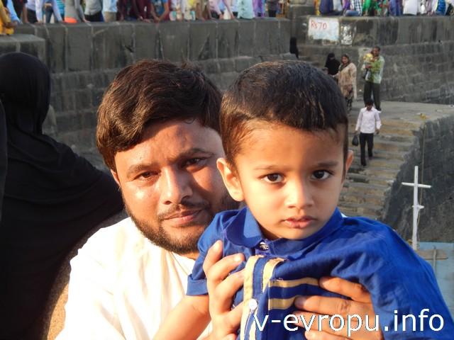 Индия. Чудесные люди на Алибаг