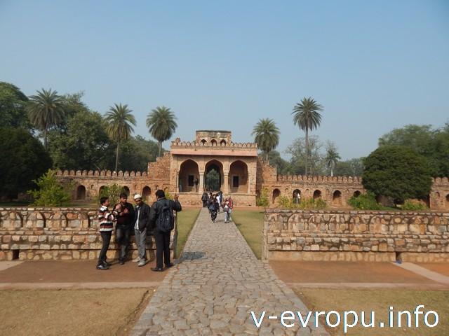 Индия. Гробницы Хумаюна