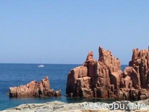 Сардиния. Красные скалы Арбатакса