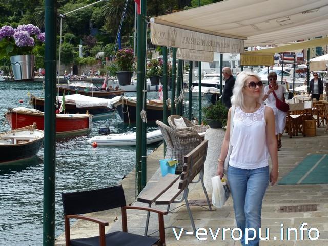 Рыбацкий город Портофино, Италия