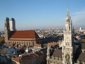 Munich: Frauenkirche and New Rathaus